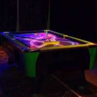 Blacklight Pool Table
