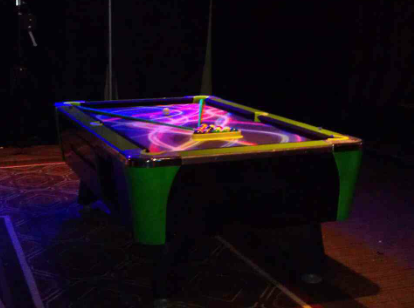 Blacklight Pool Tables Amusement Masters - Pool table rental atlanta