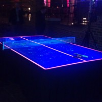 blacklight Ping Pong