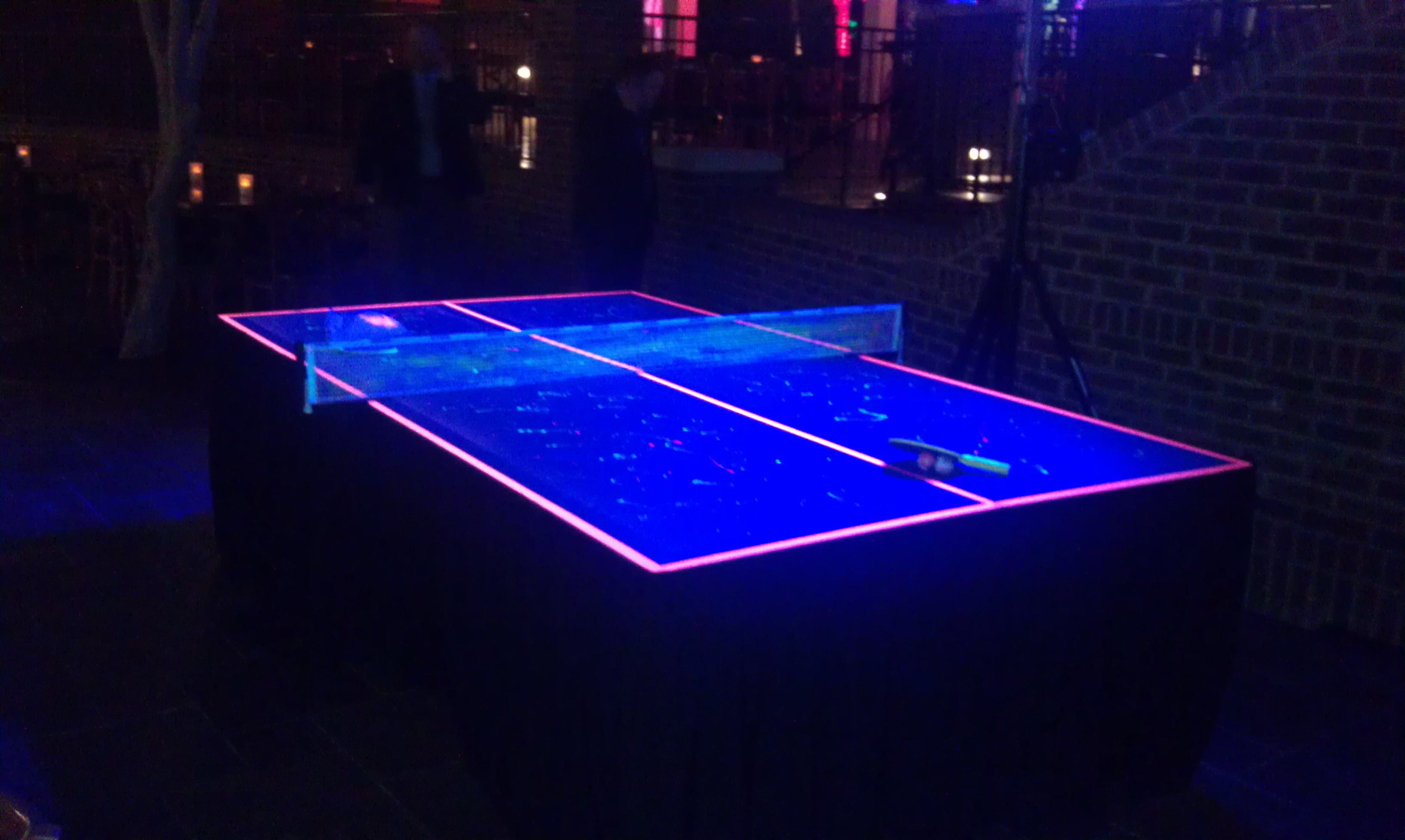 blacklight ping pong amusement masters. Black Bedroom Furniture Sets. Home Design Ideas