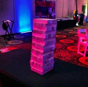 Giant Jenga Tower