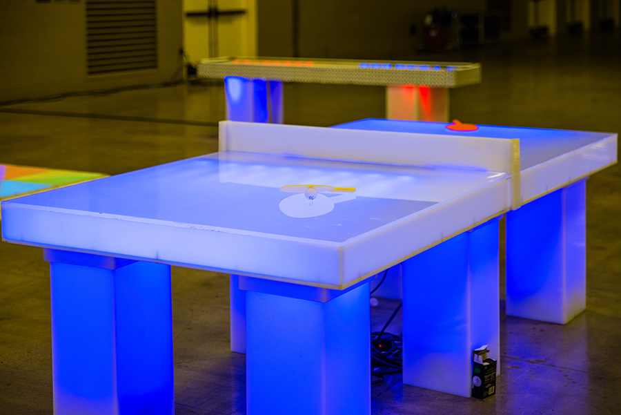 LED Ping Pong Tables