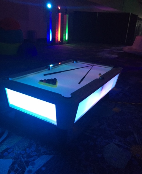 AM LED Pool Table